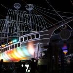 前回で初登場した光の帆船「エルピス号」。好評につき今回も目玉に