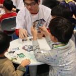 今回の目玉のひとつ「中高生アゴラジャック!プロジェクト」。中高生が一般来場者に科学の魅力を伝えた②