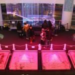 アクアシティ3Fのイベントスペースで展開された「AQUA Christmas 2010」