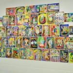 絶妙な色彩感覚を持つ大川誠さんの作品「バロウィン(シリーズ)」。3カ月で約100点描いたという圧倒的な枚数にも驚かされる
