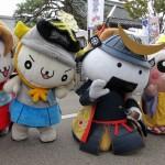 """本イベントはゆるキャラたちの""""絆""""によって作られており、ゆるキャラたちが共に手と手を取り合い、ご当地自慢を繰り広げる姿を通して日本の元気を発信"""