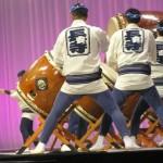 岩手県から参加の「長安寺太鼓保存会」の演奏