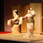 京都五花街のひとつ、宮川町の舞妓による舞