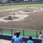 親子で野球観戦を楽しむ至福のひととき