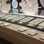 スター・システムのコーナーでは、直筆原画に作品解説とキャラクター紹介(手前)を添えて紹介