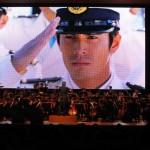 大スクリーンで過去の「海猿」全作品のハイライトシーンを上映
