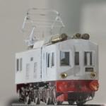 原氏が初めて製作したという記念すべき作品も「第一展示室」で見ることができる (C)原鉄道模型博物館所蔵