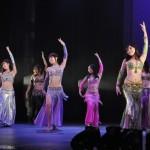 妖艶な衣装とダンスで観客を釘づけにしたフェリス女学院大学ベリーダンス部JAMIL