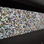 膨大なビデオレターで構成された、クリストファー・ベイカーのインスタレーション
