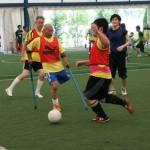 障害者サッカー4団体に所属する選手が参加し、レベルの高い試合が実現