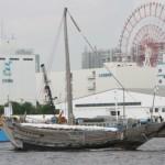 国内最大級の復元千石船であり、全長32m、帆柱までの高さ28mにもなる