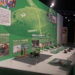 一番人気の大型輸送航空機「サンダーバード2号」の展示コーナー
