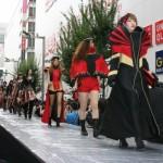 ファッション・ヘア・メイクの東京モード学園とIT・デジタルコンテンツのHAL東京がコラボし創造力あふれるステージが展開