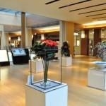 """ガレリア3階のパブリックスペースで開催された""""BARACON.""""には、6作品が出展"""