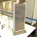 No Limit部門でグランプリを獲得した「損保ジャパン本社ビル」。使用したナノブロックの数は2万ピース以上と、まさに驚くべき大作!