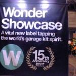 今回は「ワンダーショウケース」が立ち上がってから15周年。会場には特設ブースが設けられ、74人(組)に及ぶワンダーショウケースに選出された歴代の造形物が展示されていた