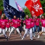 オープニングを飾った「横浜ダンスパレード」は、コンテンポラリー、ストリート、盆踊りなど、オールジャンルのダンスが一堂に会した