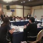 ハイレベル・ラウンドテーブルについた参加者は20名ほど。国内外の女性分野で活躍するトップ・リーダーが一堂に会した