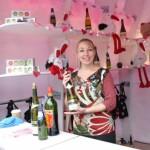 ワインやシャンパンを楽しめるバレンタインスペシャルドリンクバー