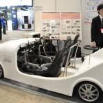 東京大学生産技術研究所が開発したパーソナルモビリティビーグルは、都市の近距離移動手段として注目(次世代モビリティ展)