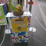 隠されている卵は一つ一つ色も柄も違う