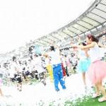 「泡 × ファンラン」を楽しむバブルラン