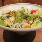 「ねりやかなや彩り#シブサラ」1,080(税込)円。有田焼の深鉢に盛り付け