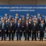 ADB加盟国である67ヶ国の財務大臣らが一堂に会した