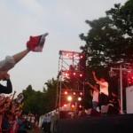 メインコンサートは横浜出身のレゲエグループ「FIRE BALL(ファイヤーボール)」