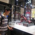 香港・タイ・マレーシア、日本の歴代チャンプ作例を展示。お国柄が表れるとか