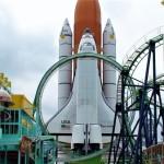 「宇宙」がテーマのテーマパークとして1990年に開園