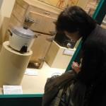 国産初の自動式電気釜(昭和30年/東京芝浦電気)