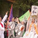 バトンの世界チャンピオンである平井夢乃さんの姿も