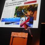 ゲノム解析とライフサイエンス産業ビジネスイベントの特別講演を行った鈴木 穣(東京大学教授)氏
