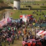 「いちにち商店街」のイベントは兵庫島公園で実施されている(写真は2018年開催時)